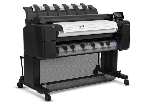 Широкоформатное МФУ HP Designjet T2500 eMultifunction