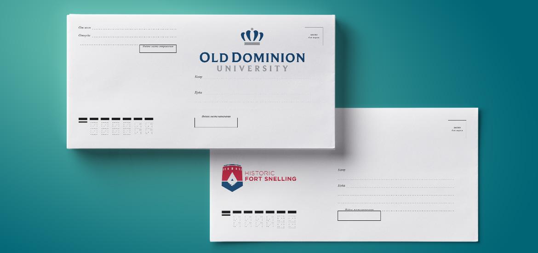 Печать на конвертах С5