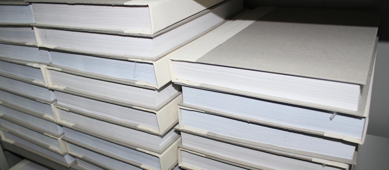 Переплет документов для архива