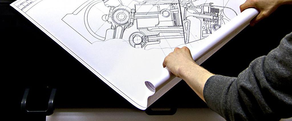 Печать чертежей больших форматов