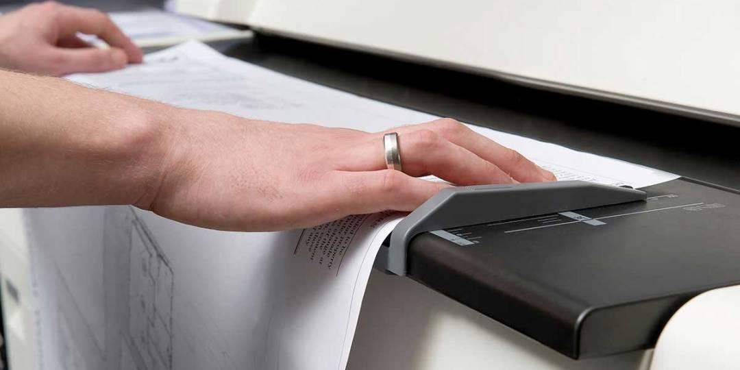 Сканирование проектной документации