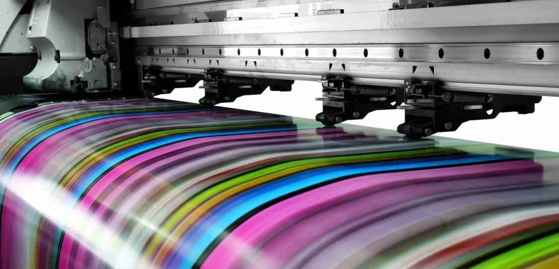широкоформатная цветная печать