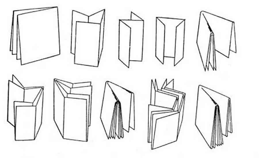 Макет фальцовки чертежей
