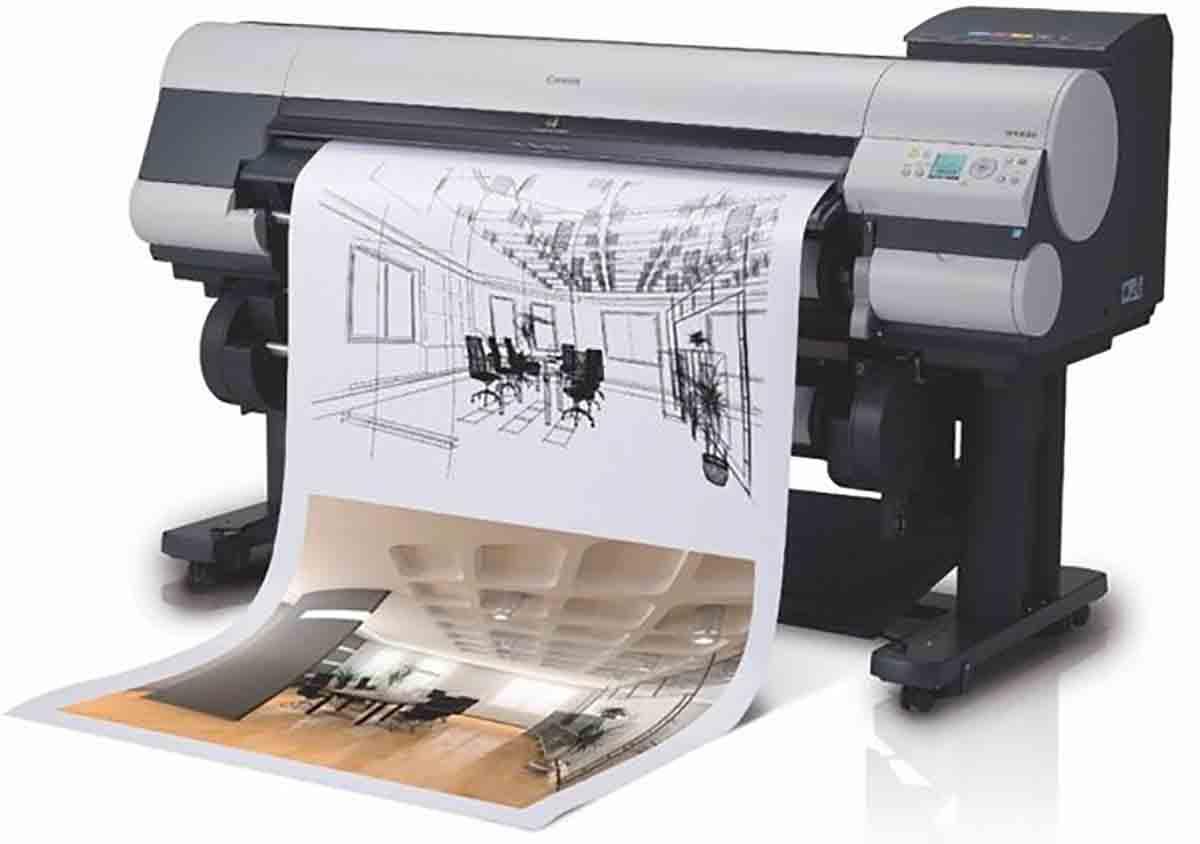 Распечатать чертежи