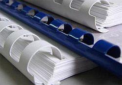 брошюровка на пластиковую пружину