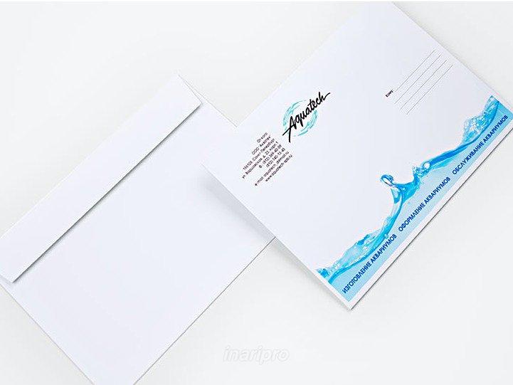 Печать на конвертах С4