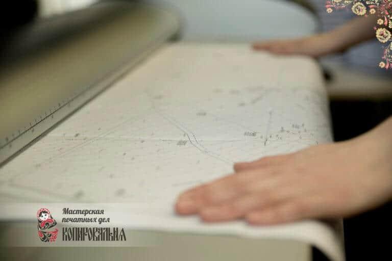 Сканирование чертежей и документов в «Копировальне»