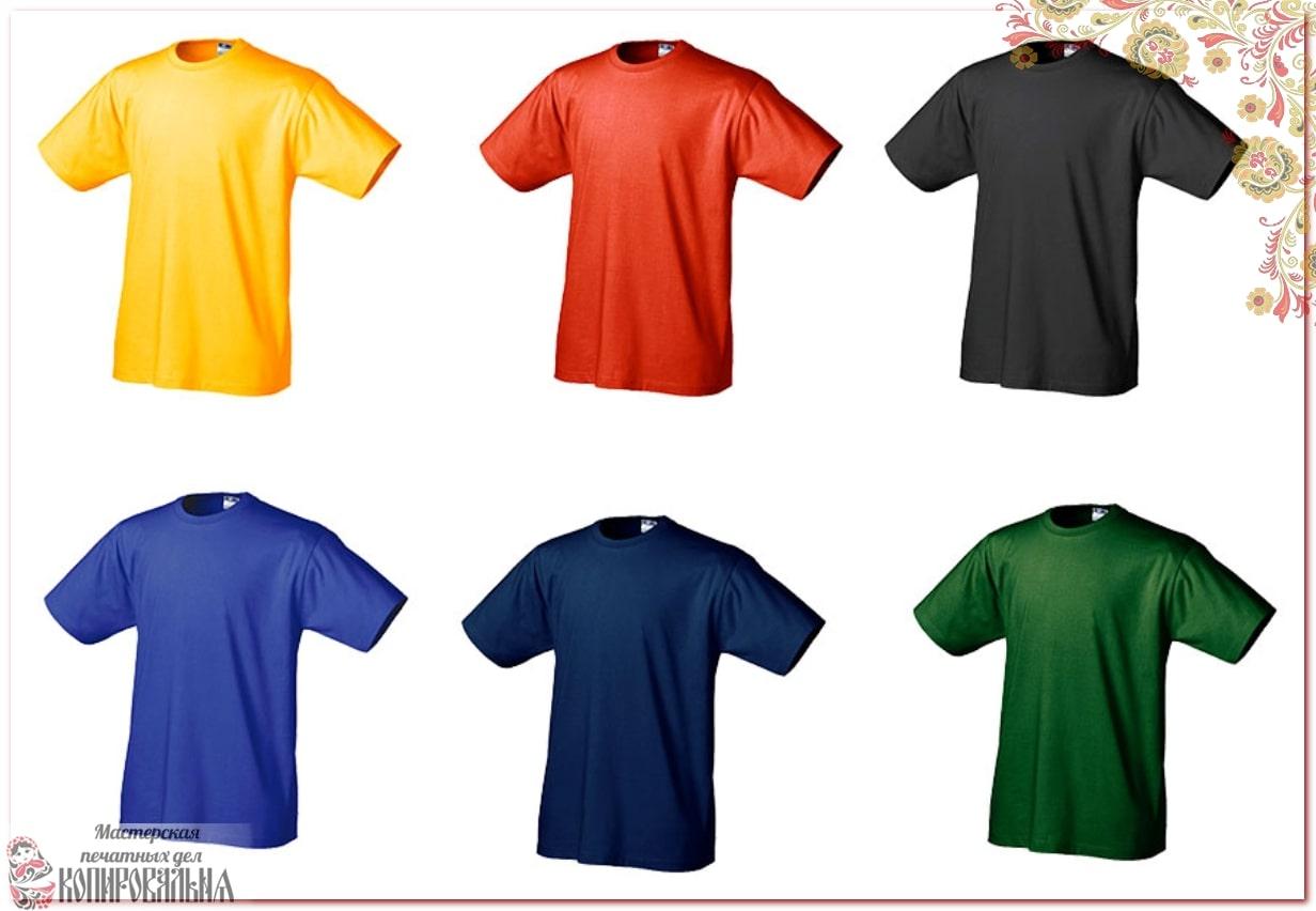 Портфолио: печать на футболках