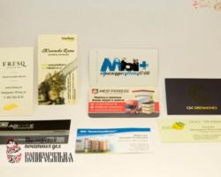 Визитные карточки - портфолио