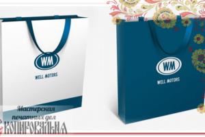 Бумажные пакеты с логотипом на заказ в Москве