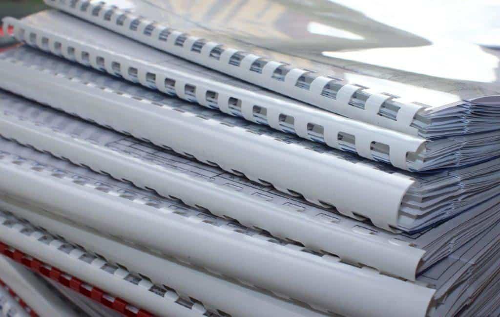 Услуги брошюровки документов